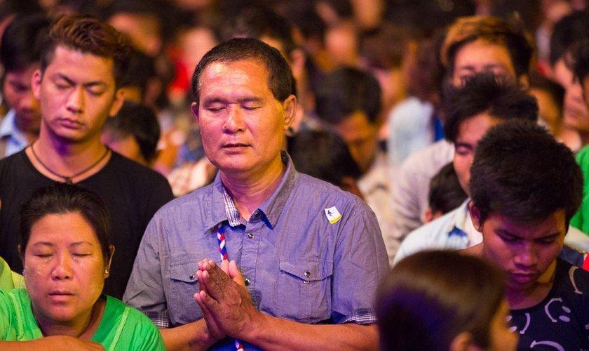 Boa parte do público do evento nunca tinha ouvido o Evangelho antes.