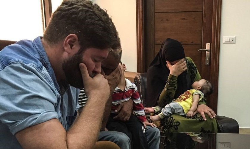 Cristãos oram juntos no Líbano Foto:Portas Abertas