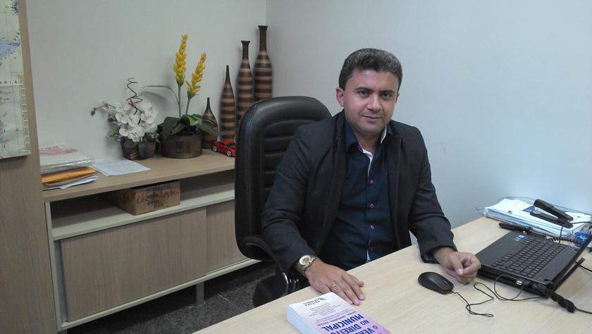Elson Ribeiro, atual presidente da UVET