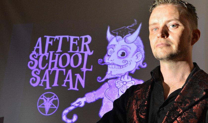Lucien Greaves é co-fundador do Templo Satânico, nos EUA. (Foto: Huffington Post)