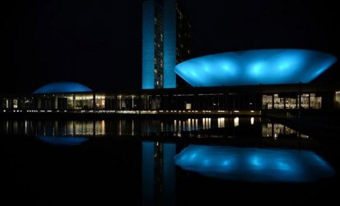 Monumentos serão iluminados para lembrar os homens de cuidar de sua saúde neste Novembro Azulm Foto: Agência Brasil/Arquivo
