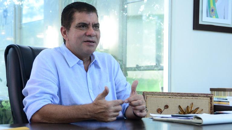 Prefeito de Palmas, Carlos Amastha - Foto: Júnior Suzuk