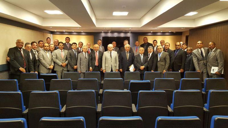 CGADB: Convenções do nordeste hipotecam apoio à candidatura de José Wellington Júnior – Foto: Tiago Bertulino