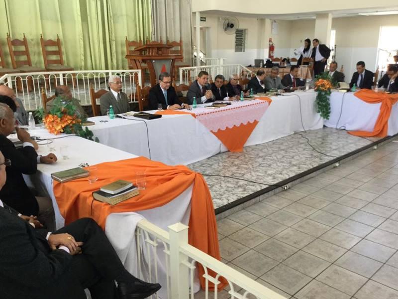 Comadespe recebe visita do Pr. Samuel Câmara e Equipe CGADB para Todos em Guaratinguetá