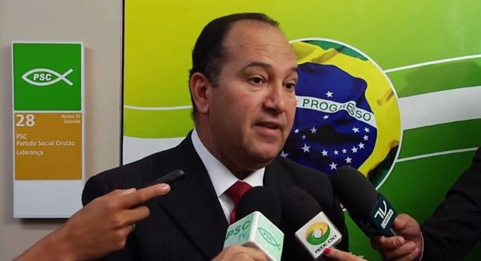 Pastor Everaldo. Foto: Fabio Motta/Estadão