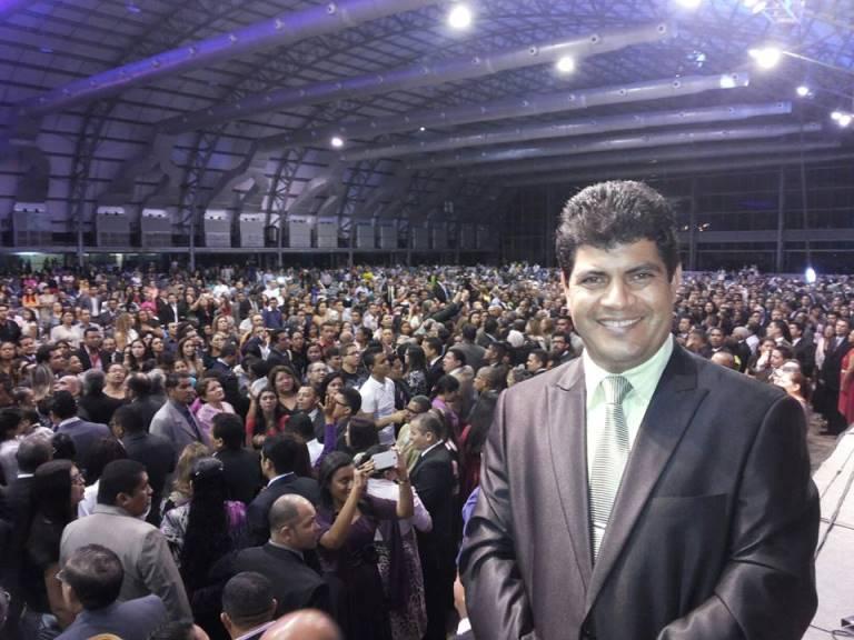 , pastor Giovani Neres, atual vice-presidente do Conselho Fiscal da CGADB.