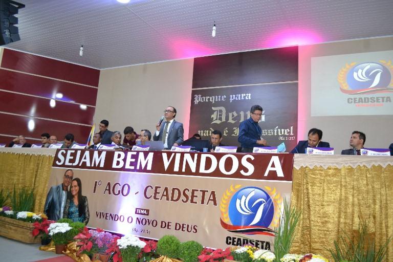 Pastor Daniel Vieira é o presidente da Convenção Ceadseta -Ma