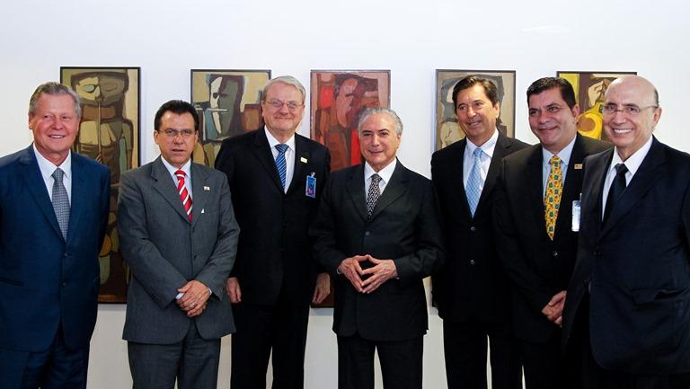 (Brasília - DF, 29/12/2016) Presidente Michel Temer durante Audiência com Márcio Lacerda, Presidente da Frente Nacional de Prefeitos (FNP). Foto: Beto Barata/PR