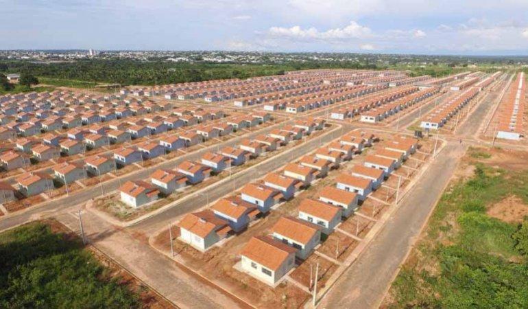 Nesta etapa, serão mil casas entregues no residencial Lago Azul 4