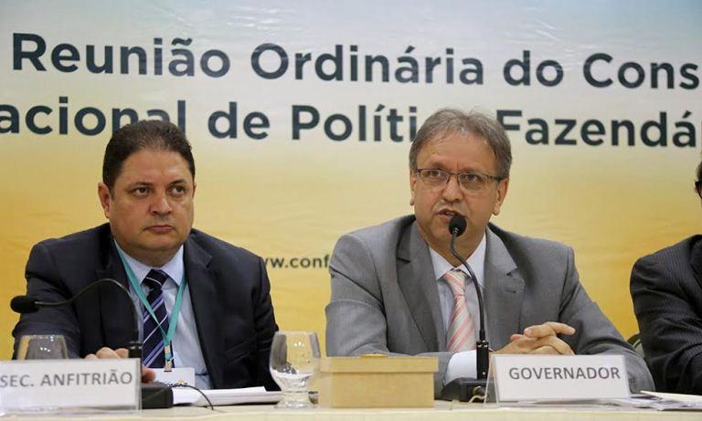 A 163ª reunião do Conselho Nacional de Política Fazendária (Confaz), que está sendo realizada no auditório do Hotel Pálace Céu, em Palmas
