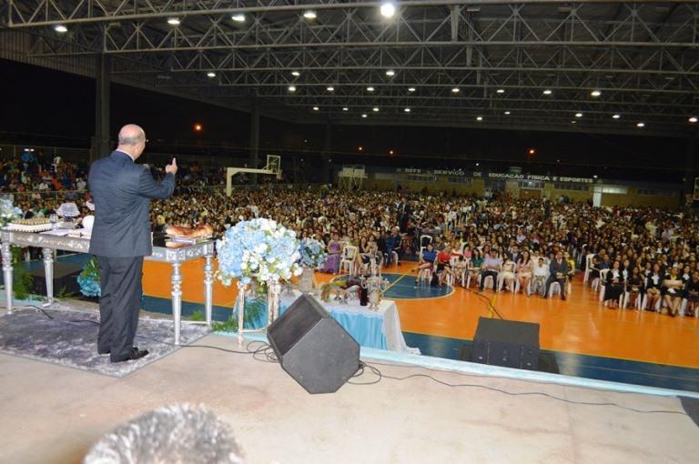 O evento será realizado no Jardim Aureny III em Palmas -TO