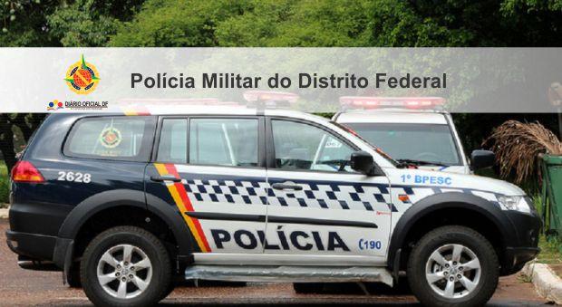 Polícia Militar - DF prorroga inscrições do Concurso Público com salários que chegam até R$ 11,8 mil