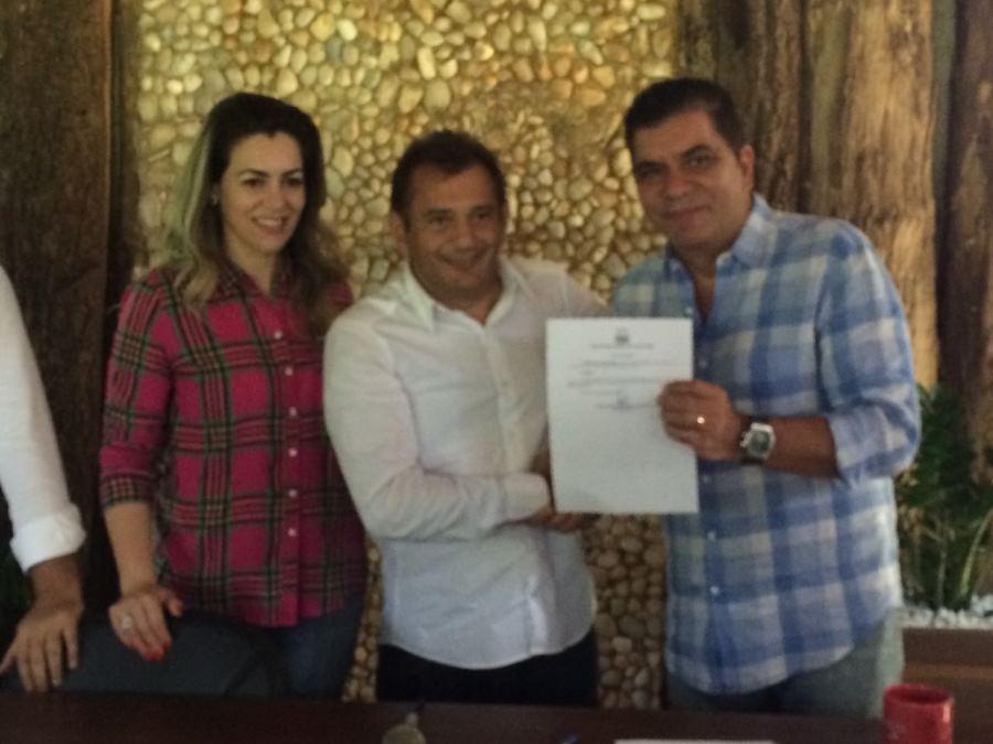Empresário Gilvan Lino é empossado secretário executivo de Desenvolvimento Ecônomico em Palmas