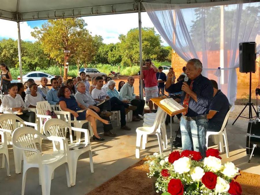 Pastores que participaram do concílio
