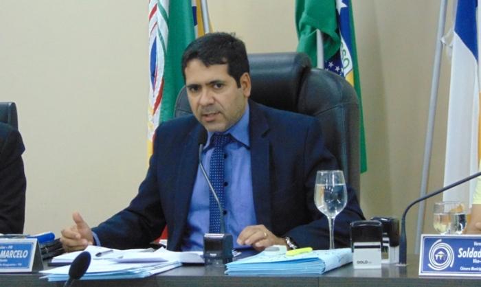 Presidente da Câmara de Araguaína, Marcus Marcelo (PR)