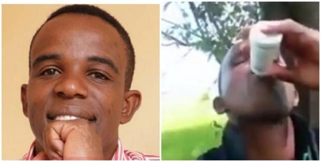Vídeo: Pastor se mata ingerindo veneno após término de relacionamento com noiva
