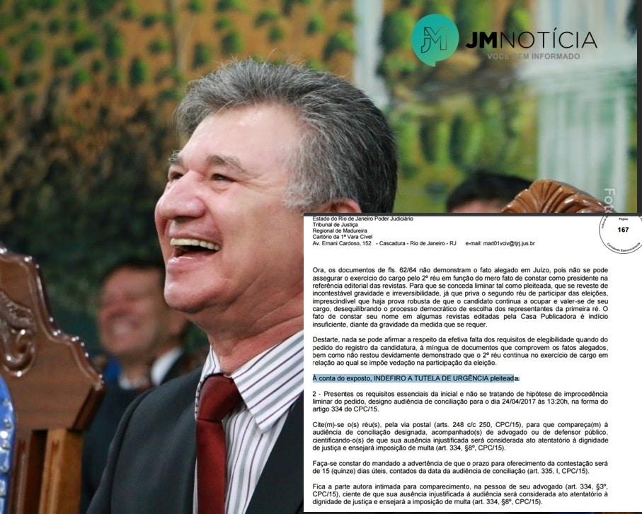 CGADB: Justiça do Rio de Janeiro indefere liminar para suspender registro de candidatura do pastor Wellington Júnior