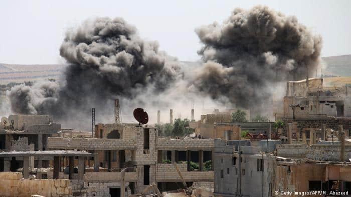 Ataque liderado pelos EUA faz 80 mortos na Síria