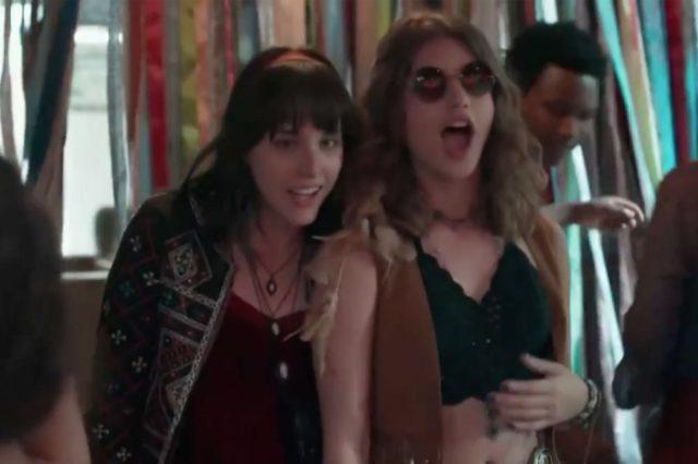 Malhação: Lica e Samantha se beijam e iniciam um romance - Bastidores