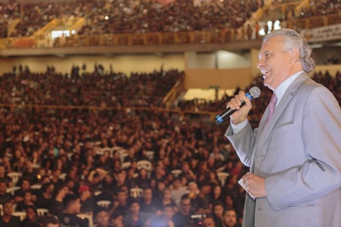 Ronaldo Caiado participa do Congresso da Umadego e destaca a força da juventude