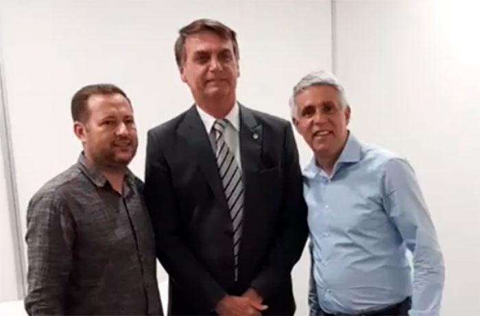 Pastor Cláudio Duarte apoia pré-candidatura de Jair Bolsonaro à